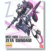 1/100 MG MSZ-006-3 Zeta Gundam Karaba Assault Use Prototype
