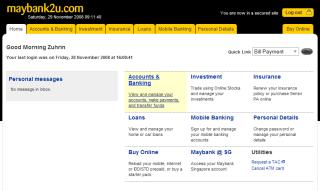 M2U new homepage